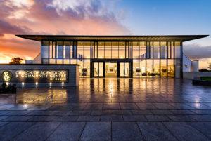 nová budova Scientologické církve v Irském Dublinu